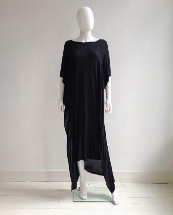 vintage Maison Martin Margiela black square maxi dress