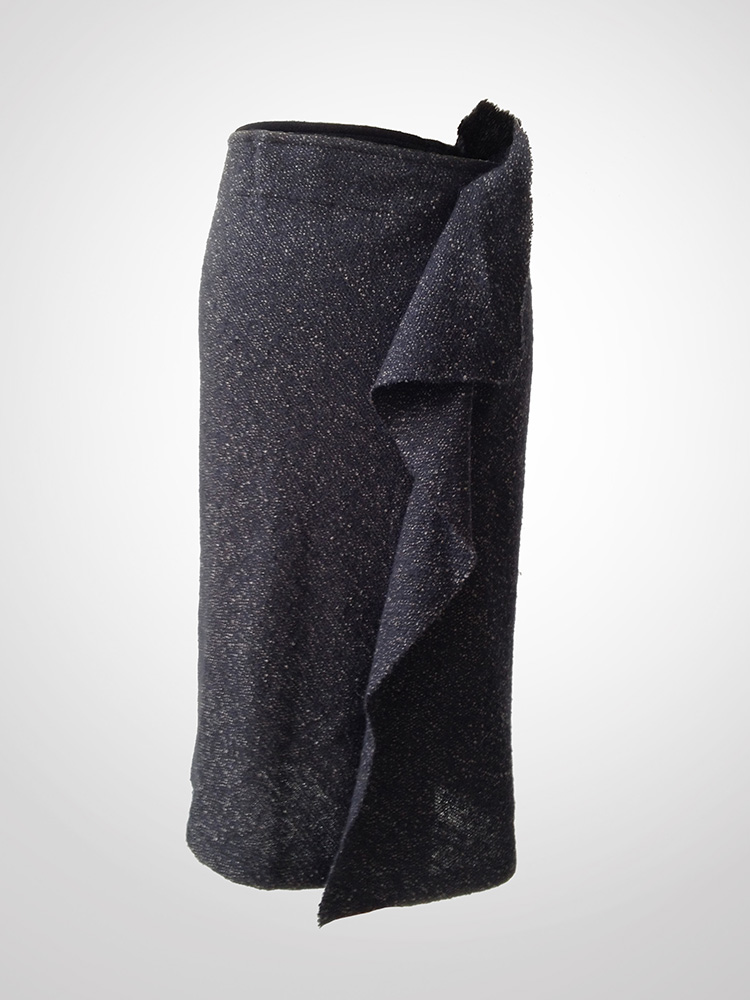 yohji_yamamoto_grey_speckled_fabric_asymmetric_draped_midi_skirt_front