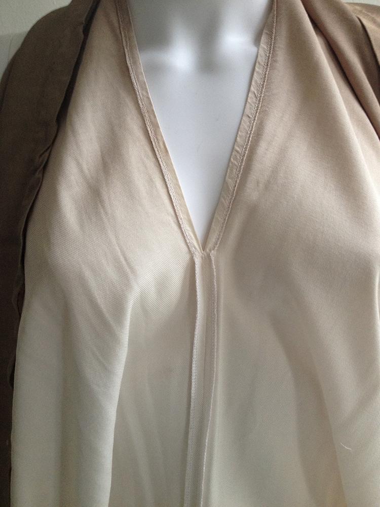 vintage Maison Martin Margiela ombre transformable dress — spring 2003