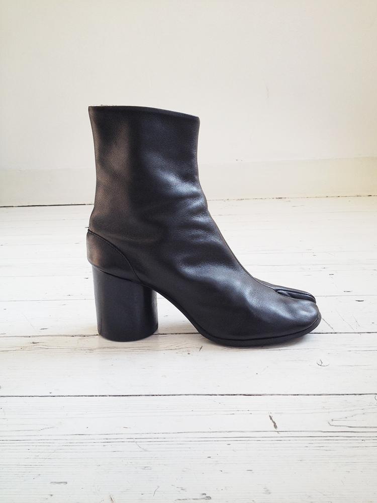 Maison Margiela Textured Ankle Boots classic for sale 4adRocmc