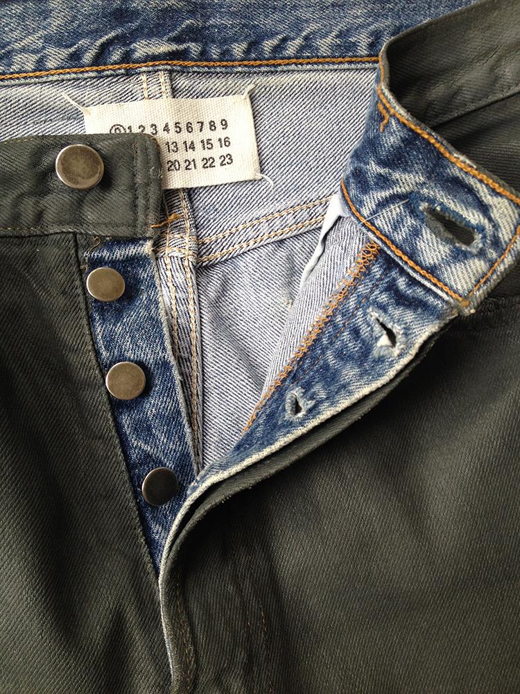 Deconstructed jeans Maison Martin Margiela BlcmIfM