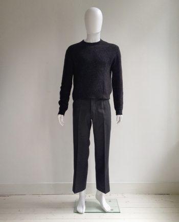Maison Martin Margiela dark grey doll's jumper — spring 1999