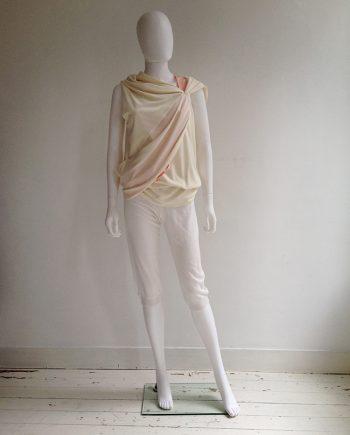 A.F. Vandevorst white capri trousers