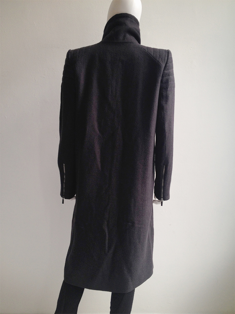 Haider Ackermann purple long coat — fall 2012 | V A N II T A S