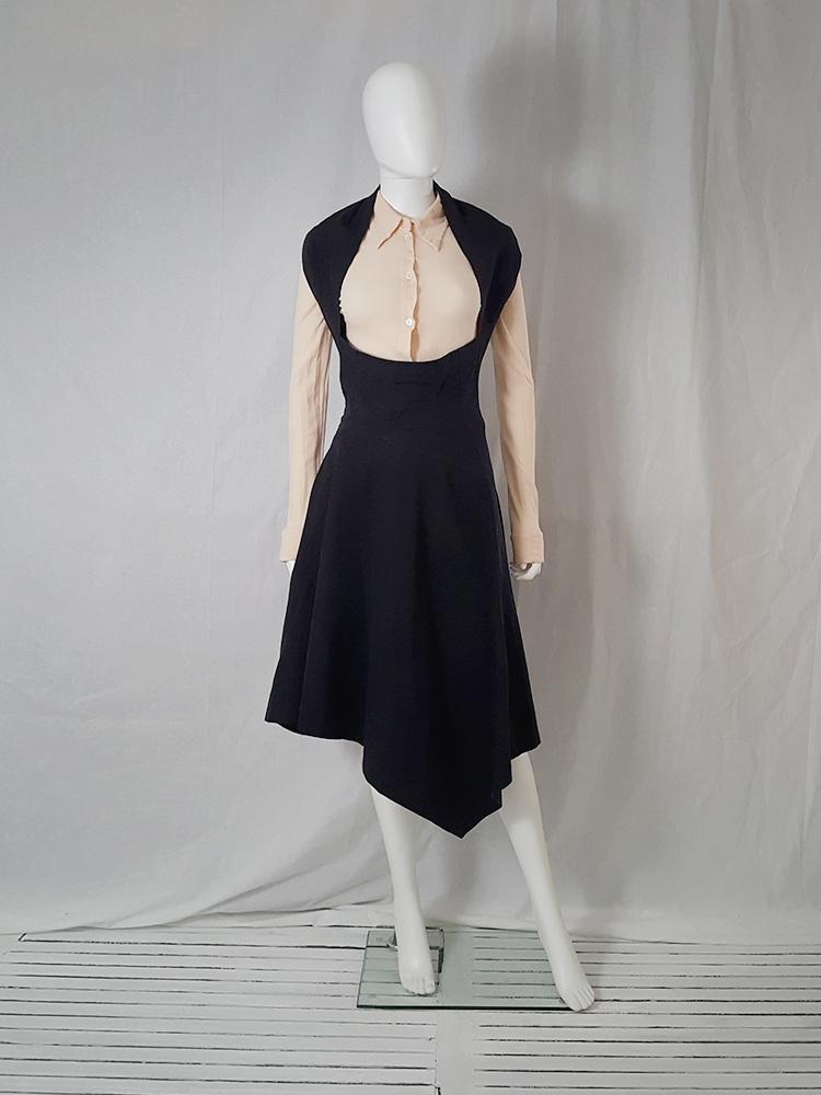 b9e719e957b8 Comme des Garçons black halter dress — spring 1987