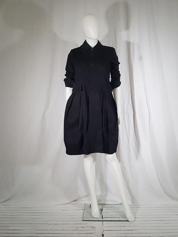 comme des gar ons comme black school uniform dress v a n ii t a s. Black Bedroom Furniture Sets. Home Design Ideas