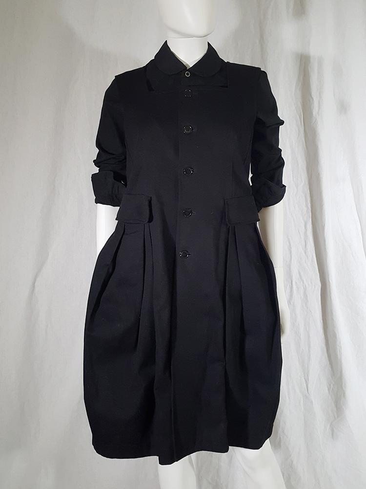 Comme Des Garons Comme Black School Uniform Dress V A N Ii T A S