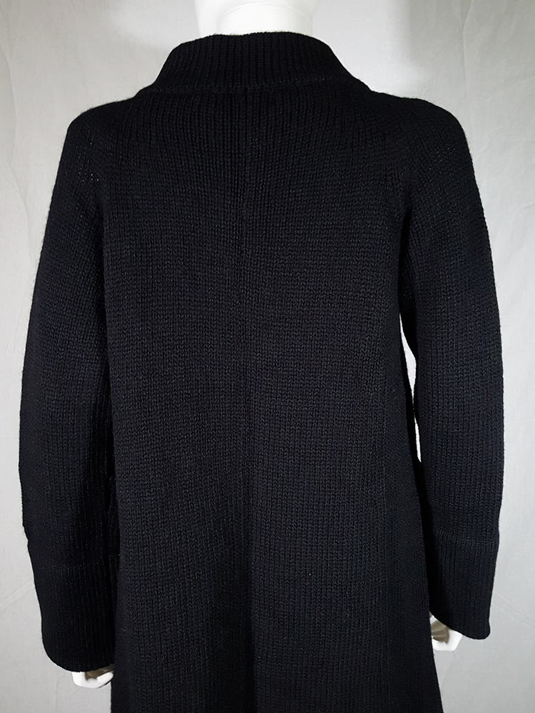 vintage Ys Yohji Yamamoto black maxi length cardigan 185916(0)