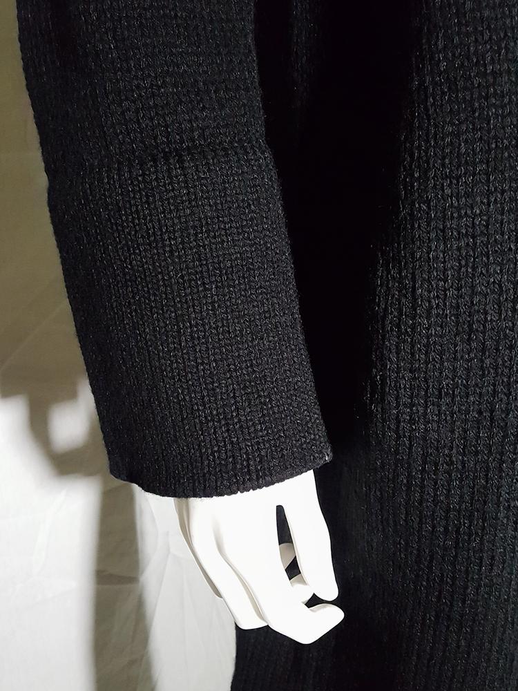 vintage Ys Yohji Yamamoto black maxi length cardigan 185950