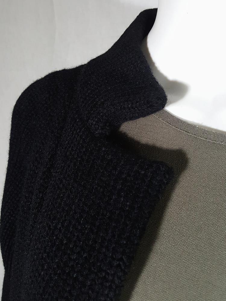vintage Ys Yohji Yamamoto black maxi length cardigan 190024