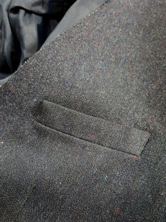 vintage Maison Martin Margiela grey felt backwards blazer fall 1994 202204