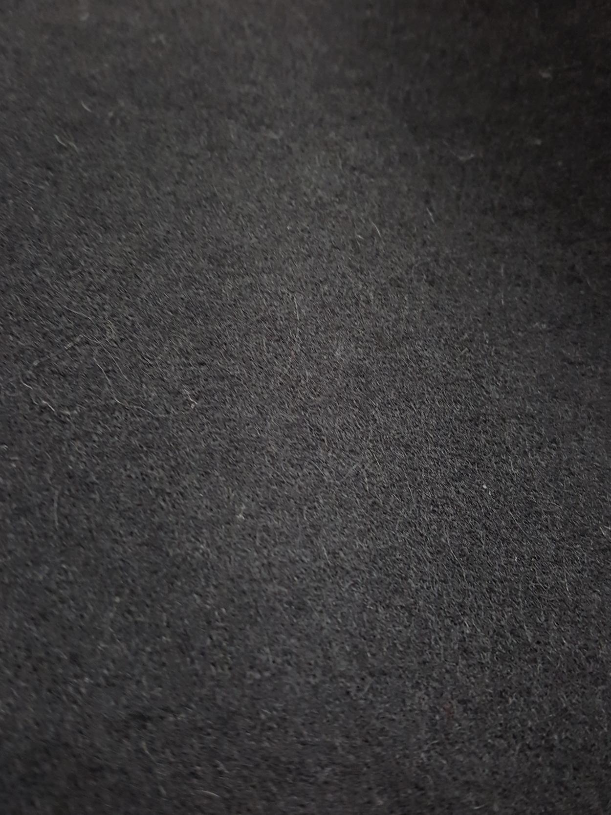 vintage Comme des Garcons black 2D circle skirt fall 2012 131418