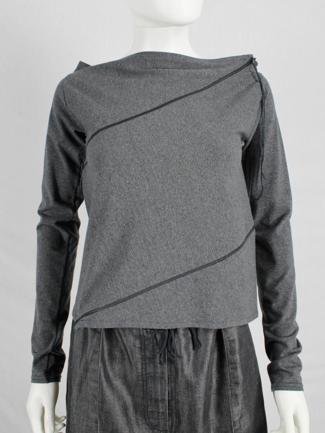 Maison Martin Margiela zipper sweater VINTAGE!!